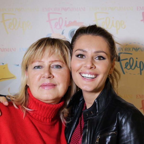 Виктория Кожевникова с мамой