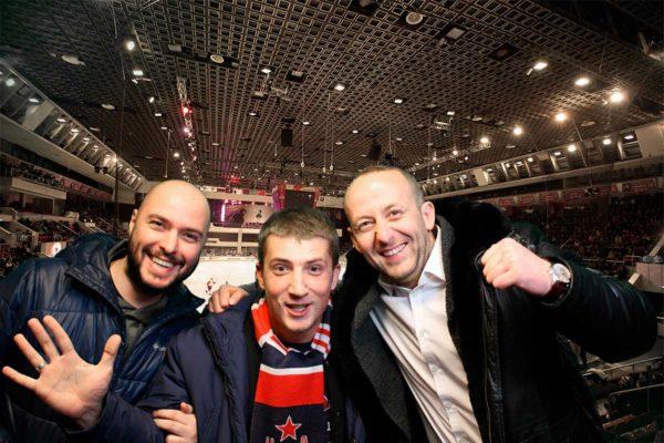 Фотостойка на мероприятии ЦСКА