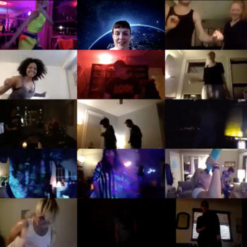 Домашняя онлайн вечеринка